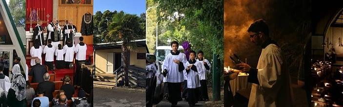Livestream Mass Fraternity of St Peter, Auckland, New Zealand