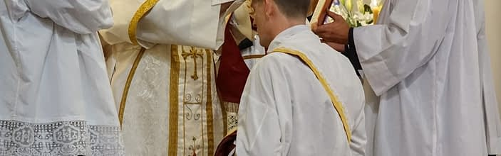 The Ordination of Roger Gilbride, FSSP to the Sacred Priesthood and Brendan Boyce, FSSP to the order of Deaconate