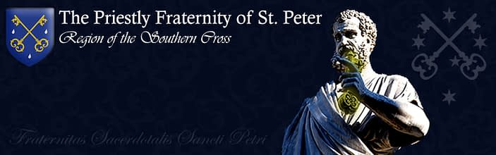Fraternity of St Peter: new Regional Superior for the Fraternity in Australia and New Zealand