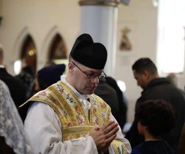 First Mass of Fr Brendan Boyce FSSP – Deo Gratias!
