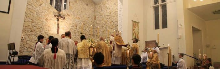 Traditional Latin Mass Times – New Zealand