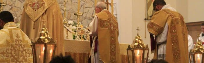 Traditional Ordination of Br Jean-Marie, F.S.S.R., in Christchurch