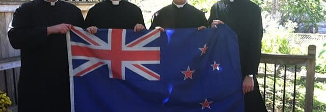 New Zealand Seminarians with the Fraternity of St Peter
